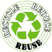 Recycle, reduce, reuse